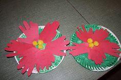 poinsettia crafts for kids Preschool Christmas, Christmas Activities, Christmas Crafts For Kids, Christmas Projects, Kids Christmas, Holiday Crafts, Learning Activities, Holiday Ideas, Teaching Ideas