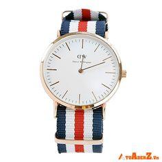 Đồng hồ nam nữ DW thiết kế thanh lịch, hiện đại, là phụ kiện mang đến phong cách sành điệu cho bạn trẻ. Giá : 179.000đ