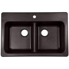 Franke USA Franke USA Double-Basin Drop-In or Undermount Granite Kitchen Sink $219.00