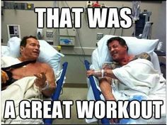 Funny Hilarious gym, workout and fitness memes. Crossfit Memes, Workout Memes, Rowing Memes, Workout Routines, Fitness Studio Motivation, Gym Motivation, Sylvester Stallone, Arnold Schwarzenegger, Fitness Inspiration