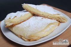 bougatsa!!! Cake Factory, I Foods, Camembert Cheese, Caramel, Dairy, Yummy Food, Meals, Ethnic Recipes, Romani