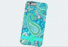 PAISLEY Initial Cell Phone Case, iPhone 6 case, Note 4 cell case, iPhone 6 plus cell case, iPhone 6 plus case, Galaxy Samsung S6 #501 by DesignsbyLiv15 on Etsy