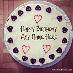 write name on Special Handmade Happy Birthday Cake For Best Friends picture