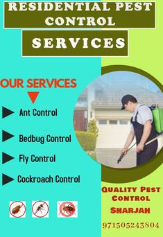 Ants Pest Control ,Bedbug Pest Control,Fly Pest Control,Cockroach Pest Control in Sharjah Ant Pest Control, Cockroach Control, Fly Control, Pest Control Services, Bed Bugs, Sharjah, Ants, Ant