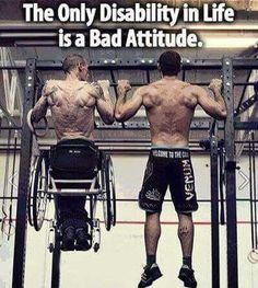 Don't have a negative attitude!