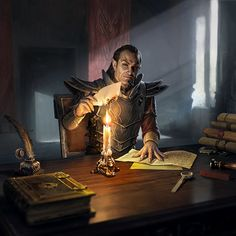 m Fighter Eldritch Knight Noble Baron Castle Mansion Scrolls Book burning the evidence story med (158) Dark Fantasy, Fantasy Rpg, Medieval Fantasy, Fantasy Artwork, The Elder Scrolls, Elder Scrolls Online, Dnd Characters, Fantasy Characters, Dunmer Skyrim