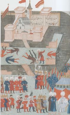Zigetvar-Siege of Szigetvár-Tarih-i Sultan Süleyman