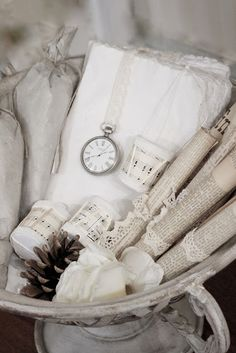 ☆ White Christmas Wonderland ☆   shabby Christmas
