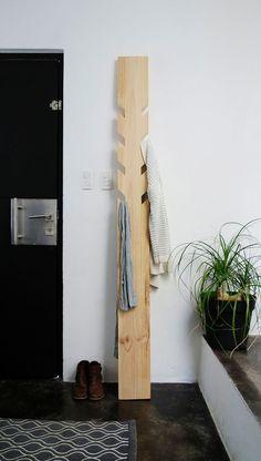Diy Crafts Ideas     DIY modern coat rack – coat hanger. Ohoh blog for Bob Vila    -Read More –