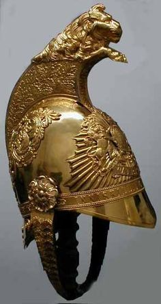 dragoon helmet, with eagle crest