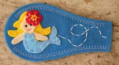 Eye Patch  Mermaid by PatchMe on Etsy