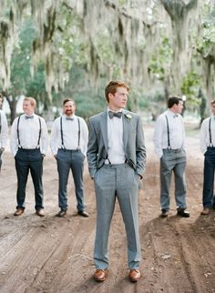 Groom Style -- See the wedding here: http://www.StyleMePretty.com/2014/04/10/diy-st-simons-island-wedding/ Photography: Mi Amore Foto - miamorefoto.com