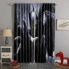 Boys Room Curtains, 3d Curtains, Printed Curtains, Custom Curtains, Blackout Curtains, Panel Curtains, Bat Man, Bathroom Windows, Shop Window Displays