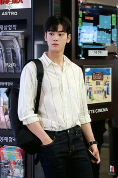 My ID is Gangnam Beauty-Korean Drama-Subtitle Indonesia- Cha Eunwoo Astro, Lee Dong Min, Handsome Korean Actors, Sanha, Kdrama Actors, Kpop, Korean Celebrities, Korean Men, Models