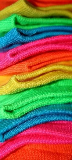 Colorful sweaters