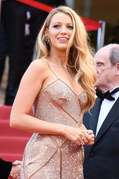 Blake Lively in Cannes.