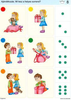 Piccolo: kroon kaart 8 Sequencing Pictures, Sequencing Cards, Story Sequencing, Montessori Activities, Preschool Worksheets, Preschool Activities, Kids Education, Special Education, Educational Games For Kids