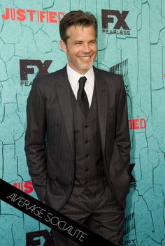 Timothy Olyphant at Justified Finale Screening in LA. More pics: http://www.averagesocialite.com/2015/04/justified-series-finale-screening-apr.html