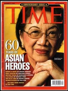 Mother of Democracy and Modern Day Heroine Learning Sites, Learning Resources, President Of The Philippines, Scout Mom, The New Wave, Asian American, Time Magazine, World Leaders, World History
