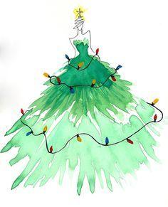 christmas illustration girls - Buscar con Google