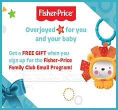 Sign Up & Get a FREE Fisher-Price Gift!