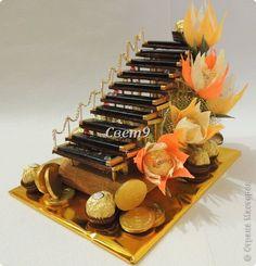 Свит-дизайн Мужские сладости Бумага гофрированная фото 4