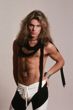 Van Halen before he got old and creepy. ...I guess he was just young and creepy here. You couldn't beat their sound back in the day though.