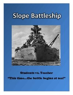 Algebra: Graphing Linear Equations Activity - Slope Battle