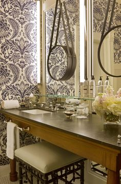 Sneak peek at Hotel Jerome's new bathrooms! http://hoteljerome.aubergeresorts.com/  #aspen