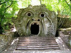 Orco nel Parco dei Mostri (The Ogre in the Park of Monsters), Bomarzo,Italy 16th c.