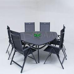 Hartman Scarlet recliner Triangular Spraystone 170x170cm