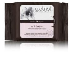 Wotnot - Facial Wipes For Normal / Sensitive Skin Pack of 25 Wipes