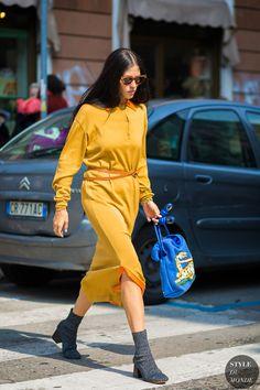 Milan SS 2017 Street Style: Giorgia Tordini and Gilda Ambrosio