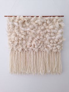 Hand Woven Wall Hanging / Tapestry / Weaving // por WovenLaine