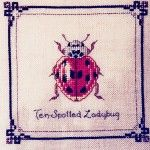 Dimples Designs Ten Spotted Ladybug