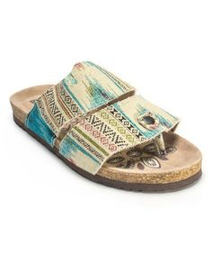 Look at this #zulilyfind! Tan Claire Duo Strapped Sandal by MUK LUKS #zulilyfinds