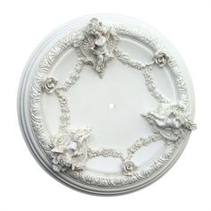 Rosenberry Rooms has everything imaginable for your child's room! Share the news and get $20 Off  your purchase! (*Minimum purchase required.) Cherub Ceiling Medallion #rosenberryrooms