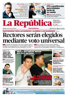 LaRepublica Lima - 02-07-2013