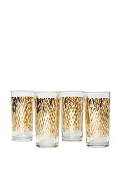 Zuzu Metallic Glass Set | Shop Sale at Nasty Gal