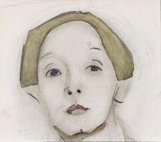 Helene Schjerfbeck (1862- 1946) was een Fins kunstschilderes. In haar jonge jaren reisde Helene veel naar het buitenland. In 1880 verbleef ze in Parijs. Van 1897 tot 1889 leefde ze in Cornwall. In deze tijd maakte ze vooral veel landschappen en zelfportretten. Na de zomer van 1889 ging Schjerfbecks terug naar Finland en opende een atelier te Helsinki. In deze periode schilderde ze haar bekendste werken, vooral veel vrouwenportretten, vaak ook weer zelfportretten.