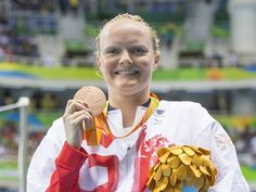 Result: Susie Rodgers continues GB swimming gold rush