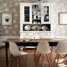 china cabinet modern rustic - Google Search