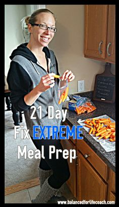 21 Day Fix EXTREME Meal Prep and Planning #21DayFixExtreme #Nutrition #MealPrep
