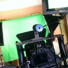 Let it begin... #Filming #Camera #Greenscreen