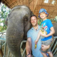 Bryn absolutely loved feeding the baby elephants yesterday  his face lit up when he saw them. I loved it too and sometimes you've just got to take that elephant selfie  #thailand #phuket #elephants #babyelephantfeeding #socute #lovemyboy #prouddad #elephantselfie #amazingday #familyholiday #lovedeveryminute #siamsafari #photocontest #gopro #goprohero3plus #gophotography #beahero #ilovemygopro #goproawards #gopro_thebest by ross.stuart