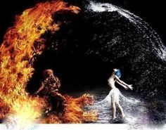 Opposites Attract like fire and ice 4 Elements, Elements And Principles, Foto Fantasy, Fantasy Art, Fire N Ice, Ice Heart, Heart Art, Fire Art, Opposites Attract