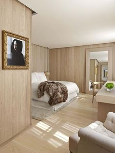 Favorite hotel rooms in London - London EDITION. Designed by Yabu Pushelberg.