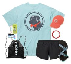 """""""{going on a church retreat today}"""" by lindsaygreys ❤ liked on Polyvore featuring Southern Proper, NIKE, Chaco, Splendid, Maybelline and Victoria's Secret"""
