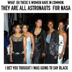 5 Astronauts who are also black women