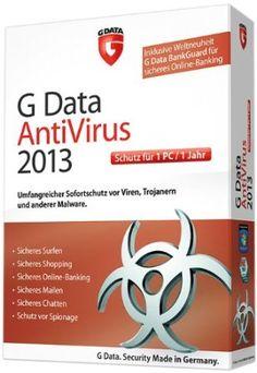 G Data antivirus 2013 poste, 2 ans) Antivirus Software, Computer Security, Online Security, Operating System, Shopping, Trojan Horse, Software